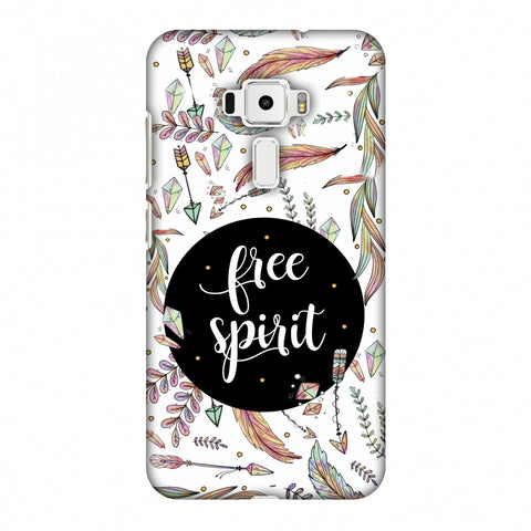 The Free Spirit Slim Hard Shell Case For Asus Zenfone 3 ZE520KL