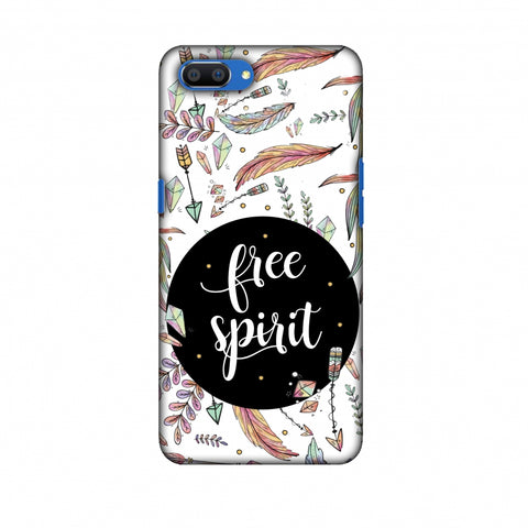 The Free Spirit Slim Hard Shell Case For Oppo Realme C1