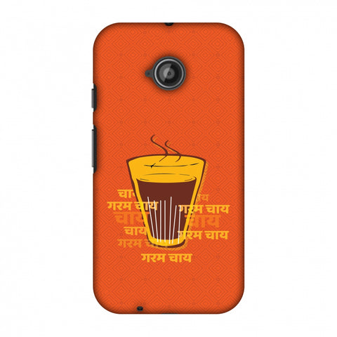 Cutting Chai For The Soul Slim Hard Shell Case For Motorola Moto E 2nd Gen