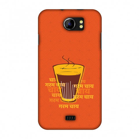 Cutting Chai For The Soul Slim Hard Shell Case For Micromax Canvas 2 A110