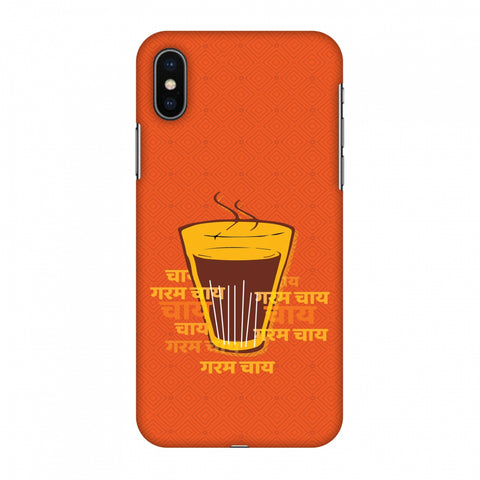 Cutting Chai For The Soul Slim Hard Shell Case For Apple iPhone X