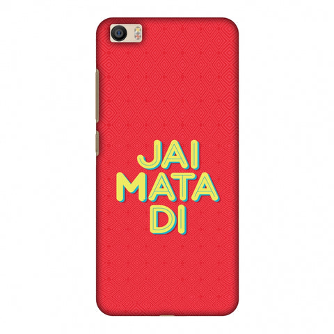 Jai Mata Di Slim Hard Shell Case For Xiaomi Mi 5