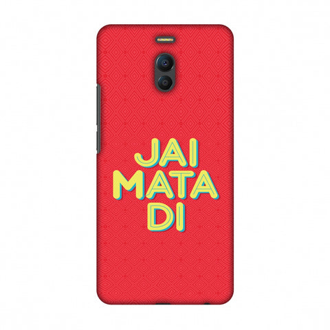 Jai Mata Di Slim Hard Shell Case For Meizu Note 6