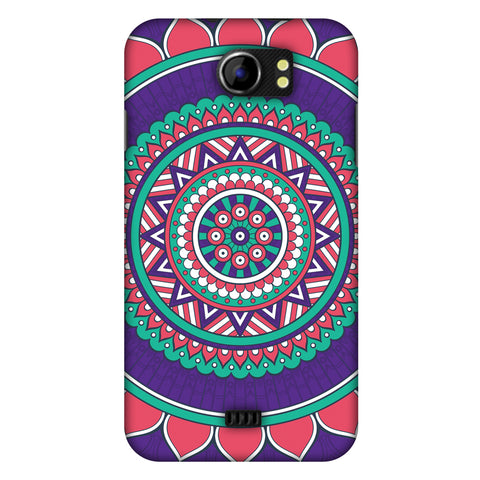 MAndala Beauty Slim Hard Shell Case For Micromax Canvas 2 A110