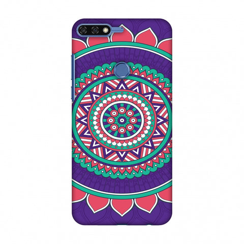 MAndala Beauty Slim Hard Shell Case For Huawei Honor 7C