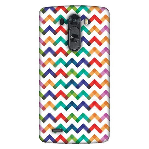 Chevron Chic 1 Slim Hard Shell Case For LG G4