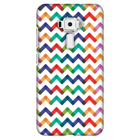 Chevron Chic 1 Slim Hard Shell Case For Asus Zenfone 3 ZE520KL