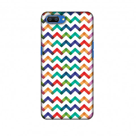 Chevron Chic 1 Slim Hard Shell Case For Oppo Realme C1