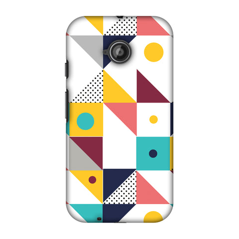 Chevron Chic 2 Slim Hard Shell Case For Motorola Moto E 2nd Gen