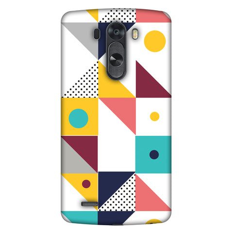 Chevron Chic 2 Slim Hard Shell Case For LG G4