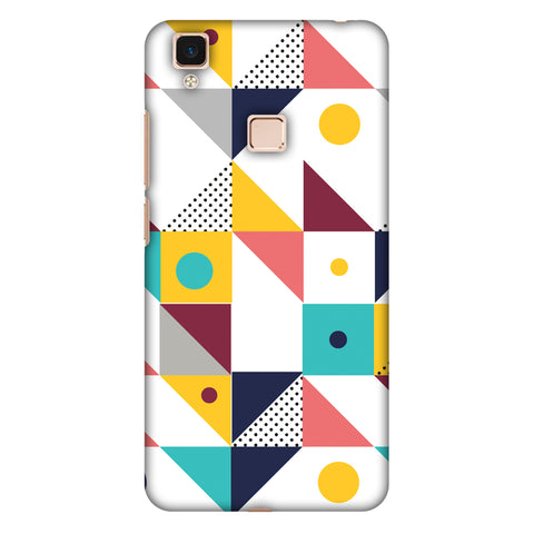 Chevron Chic 2 Slim Hard Shell Case For Vivo V3 Max