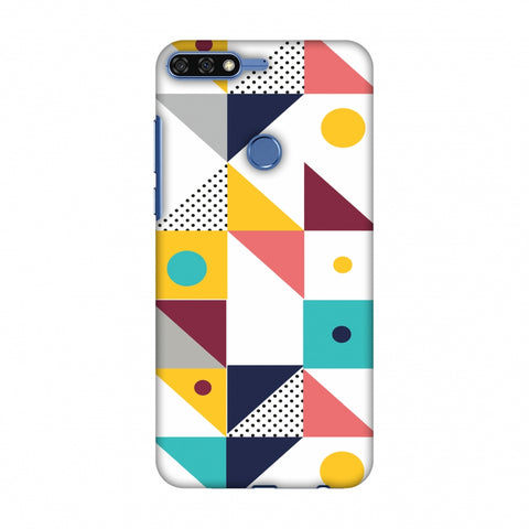 Chevron Chic 2 Slim Hard Shell Case For Huawei Honor 7C