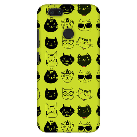 Cat Party Slim Hard Shell Case For Xiaomi MI A1-5X
