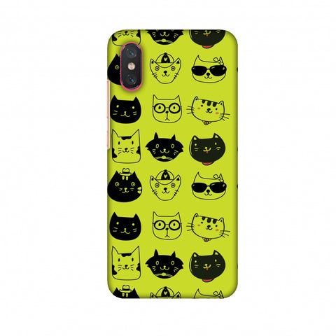 Cat Party Slim Hard Shell Case For Xiaomi Mi 8 Pro