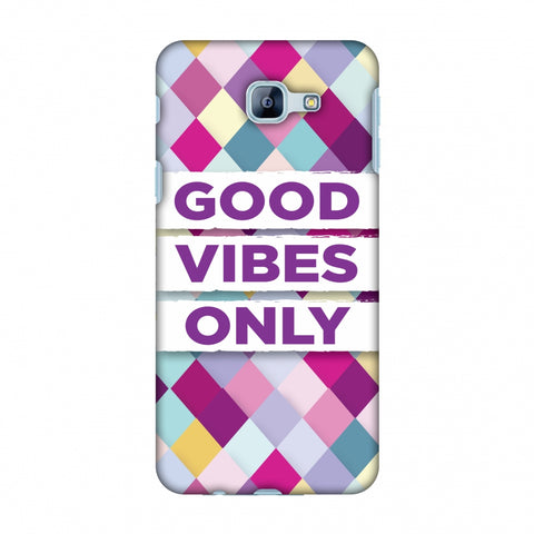 Good Vibes Only Slim Hard Shell Case For Samsung Galaxy A8 2016