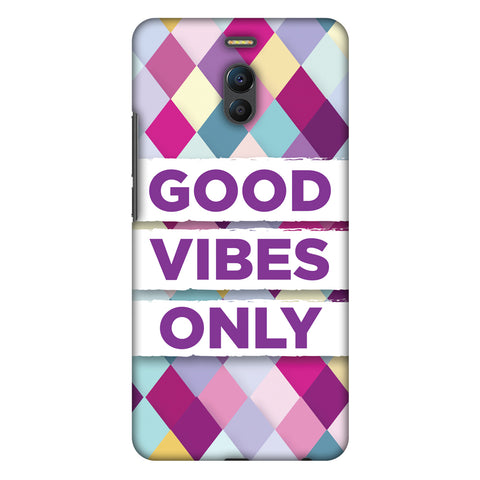 Good Vibes Only Slim Hard Shell Case For Meizu Note 6