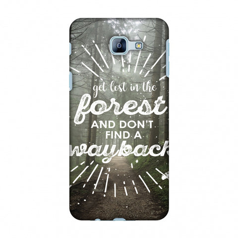 Lost In Forest Slim Hard Shell Case For Samsung Galaxy A8 2016