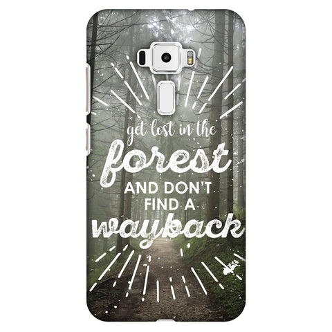 Lost In Forest Slim Hard Shell Case For Asus Zenfone 3 ZE520KL