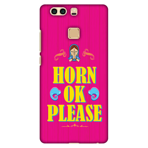 Horn Ok Please Slim Hard Shell Case For Huawei P9 Plus