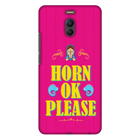 Horn Ok Please Slim Hard Shell Case For Meizu Note 6