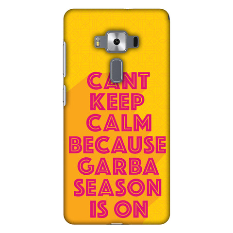 Garba Can't Keep Calm Slim Hard Shell Case For Asus Zenfone 3 Deluxe ZS570KL