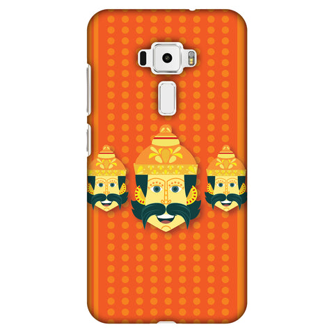 Mighty Ravana 2 Slim Hard Shell Case For Asus Zenfone 3 ZE520KL
