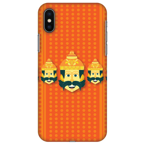 Mighty Ravana 2 Slim Hard Shell Case For Apple iPhone X