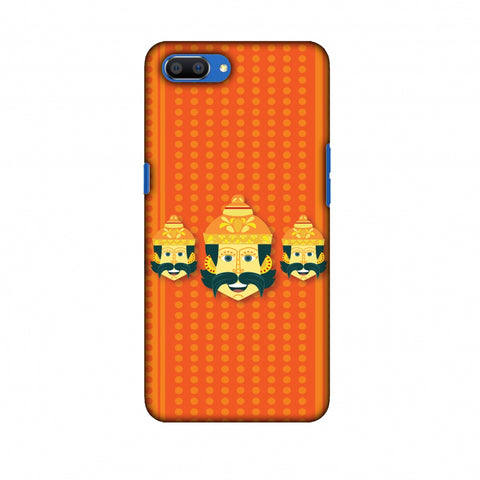 Mighty Ravana 2 Slim Hard Shell Case For Oppo Realme C1