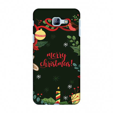 Christmas Cheer Slim Hard Shell Case For Samsung Galaxy A8 2016