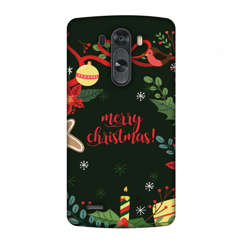Christmas Cheer Slim Hard Shell Case For LG G4
