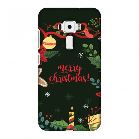 Christmas Cheer Slim Hard Shell Case For Asus Zenfone 3 ZE520KL