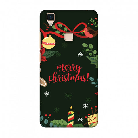 Christmas Cheer Slim Hard Shell Case For Vivo V3