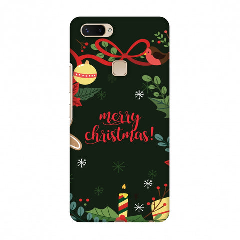 Christmas Cheer Slim Hard Shell Case For Vivo X20 Plus