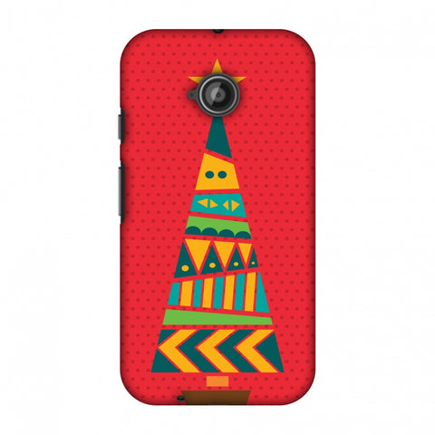 Christmas Cheer - 2 Slim Hard Shell Case For Motorola Moto E 2nd Gen