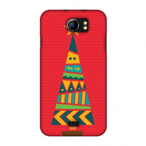 Christmas Cheer - 2 Slim Hard Shell Case For Micromax Canvas 2 A110