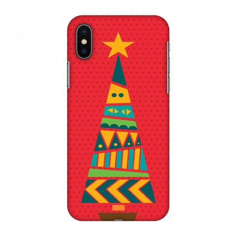 Christmas Cheer - 2 Slim Hard Shell Case For Apple iPhone X