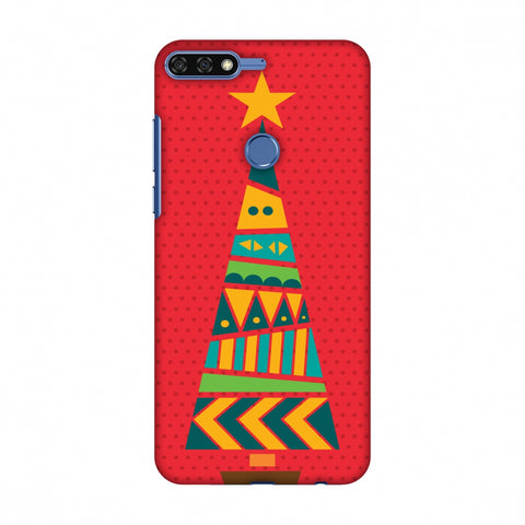 Christmas Cheer - 2 Slim Hard Shell Case For Huawei Honor 7C