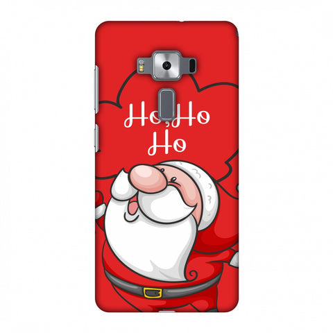 Cute Santa Slim Hard Shell Case For Asus Zenfone 3 Deluxe ZS570KL