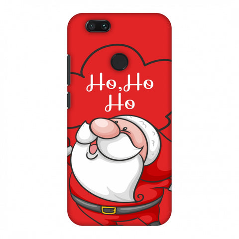 Cute Santa Slim Hard Shell Case For Xiaomi MI A1-5X