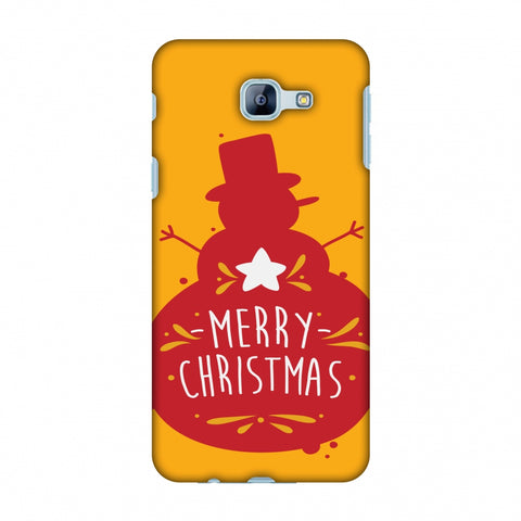 Very Merry Christmas Slim Hard Shell Case For Samsung Galaxy A8 2016
