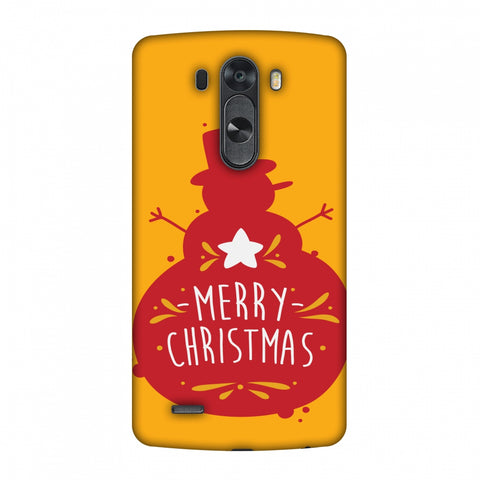 Very Merry Christmas Slim Hard Shell Case For LG G4