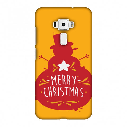 Very Merry Christmas Slim Hard Shell Case For Asus Zenfone 3 ZE520KL