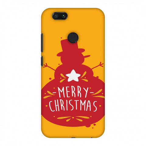 Very Merry Christmas Slim Hard Shell Case For Xiaomi MI A1-5X
