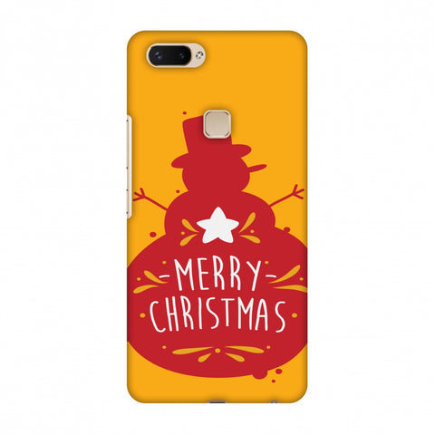 Very Merry Christmas Slim Hard Shell Case For Vivo X20 Plus