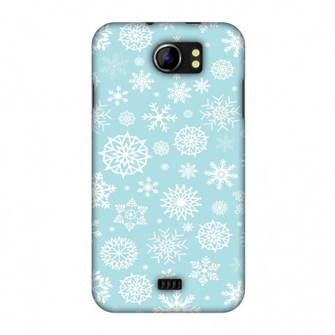 Winter Feels Slim Hard Shell Case For Micromax Canvas 2 A110