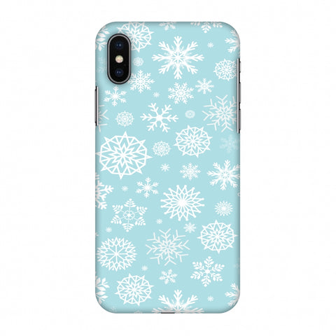 Winter Feels Slim Hard Shell Case For Apple iPhone X