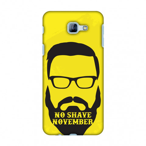 Just Bro Things : No Shave November Slim Hard Shell Case For Samsung Galaxy A8 2016