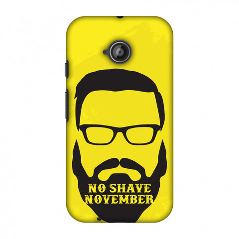 Just Bro Things : No Shave November Slim Hard Shell Case For Motorola Moto E 2nd Gen