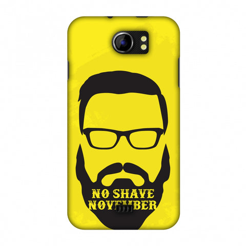 Just Bro Things : No Shave November Slim Hard Shell Case For Micromax Canvas 2 A110