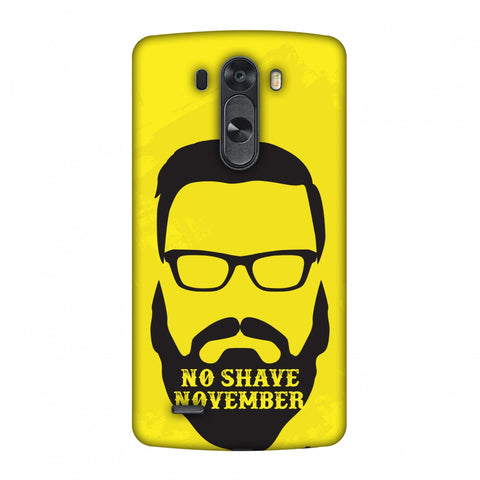 Just Bro Things : No Shave November Slim Hard Shell Case For LG G4